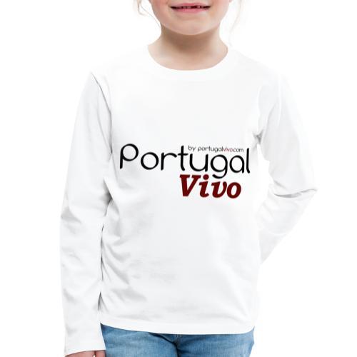 Portugal Vivo - T-shirt manches longues Premium Enfant