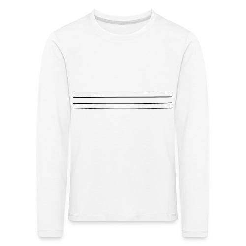 Re-entrant Womens White Tshirt - Kids' Premium Longsleeve Shirt