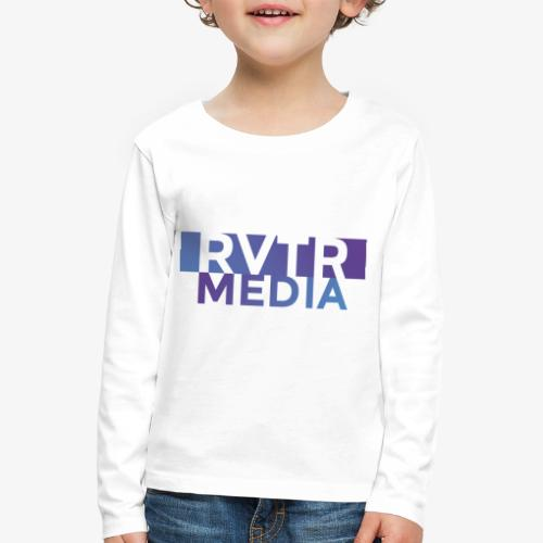RVTR media NEW Design - Kinder Premium Langarmshirt