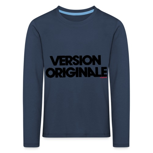 Version Original - T-shirt manches longues Premium Enfant