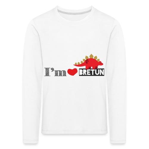 bretun negro - Camiseta de manga larga premium niño