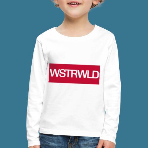 Westerwald für Hipster - Kinder Premium Langarmshirt