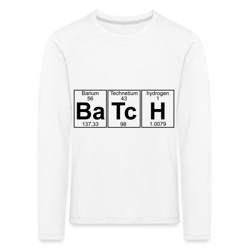 Ba-Tc-H (batch) - Full - Kids' Premium Longsleeve Shirt