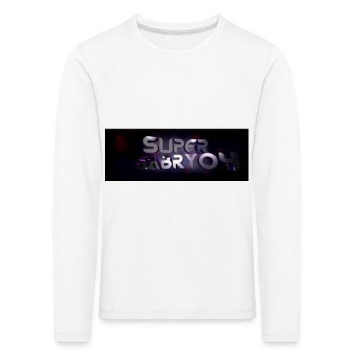 SUPERGABRY04 - Maglietta Premium a manica lunga per bambini