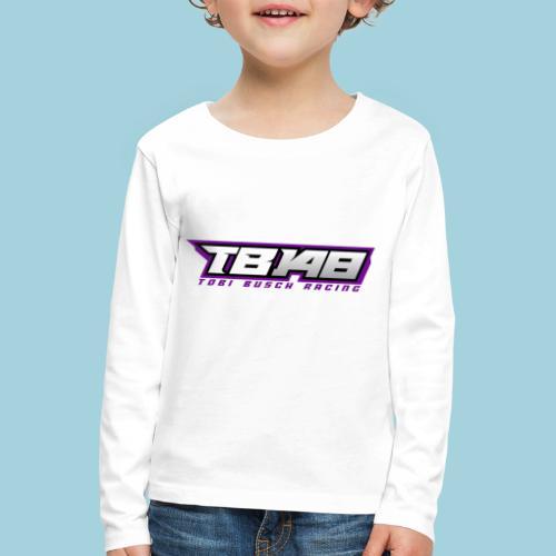 Tob Logo Lila - Kinder Premium Langarmshirt