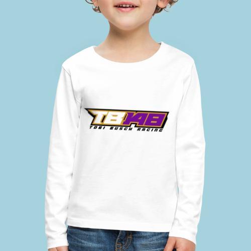 Tobi Logo schwarz - Kinder Premium Langarmshirt