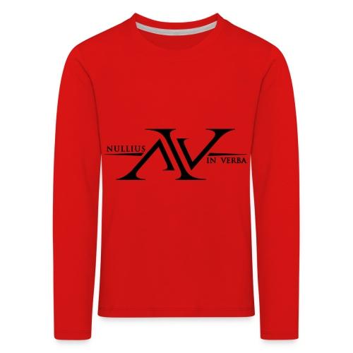 Nullius In Verba Logo - Kids' Premium Longsleeve Shirt
