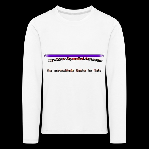 cssder - Kinder Premium Langarmshirt