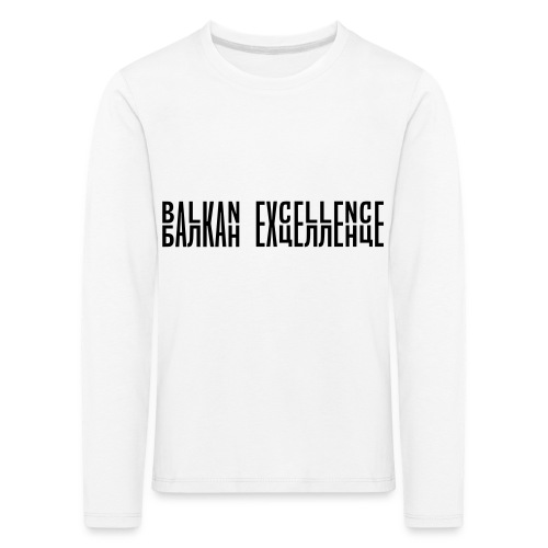 Balkan eXellence horizontal - Kids' Premium Longsleeve Shirt