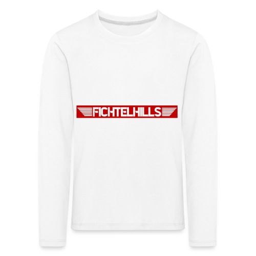 Fichtelhills Wings red - Kinder Premium Langarmshirt