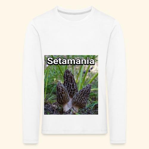 Colmenillas setamania - Camiseta de manga larga premium niño