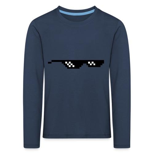 Coola glasögon - Långärmad premium-T-shirt barn