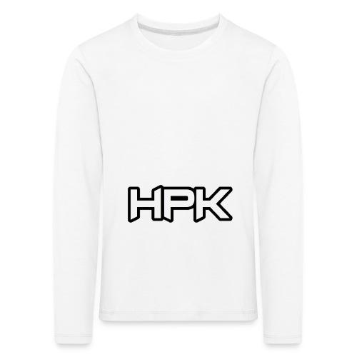 Het play kanaal logo - Kinderen Premium shirt met lange mouwen