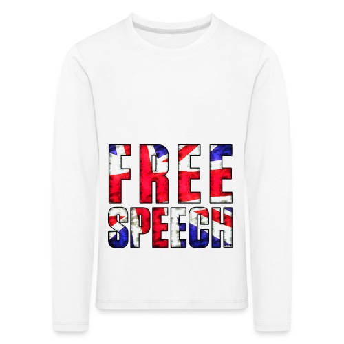 Free Speech UK - Kids' Premium Longsleeve Shirt