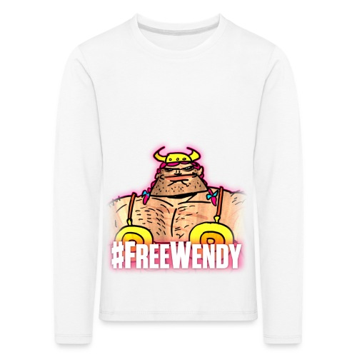 #FreeWendy - Kids' Premium Longsleeve Shirt