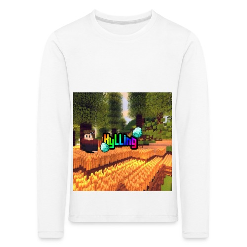 Kyllinge Merch - Børne premium T-shirt med lange ærmer