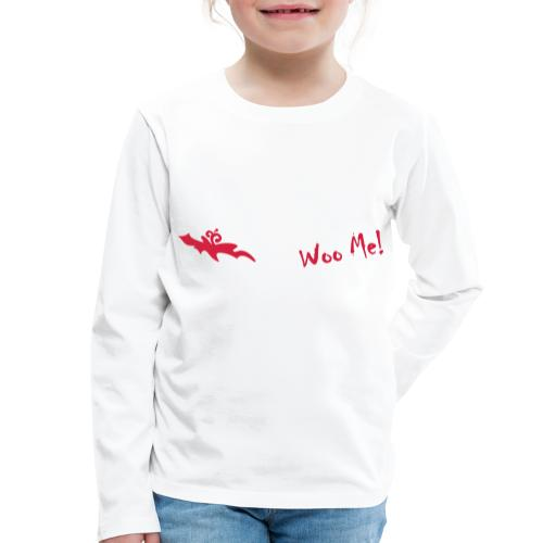 Woo Me 2 - Kinder Premium Langarmshirt