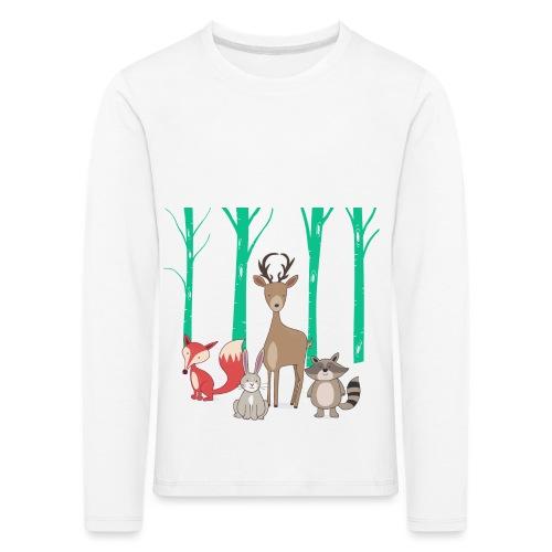Las body dziecko - Koszulka dziecięca Premium z długim rękawem