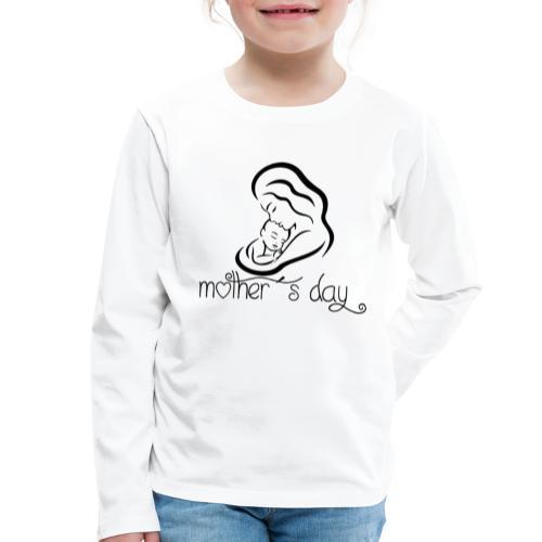 Your-Child Mother´s day - Børne premium T-shirt med lange ærmer