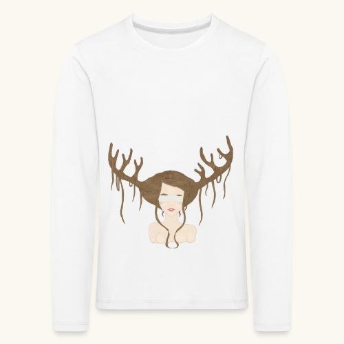 Blind Deer. - T-shirt manches longues Premium Enfant