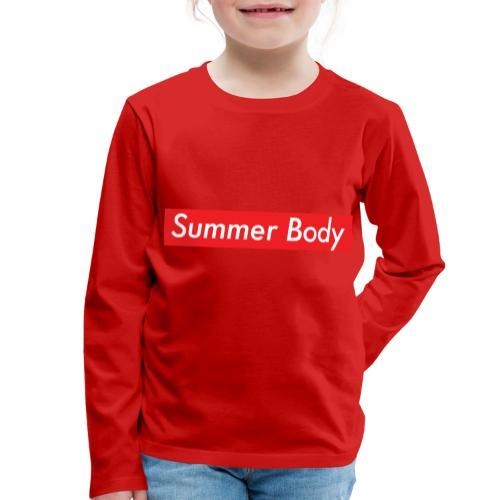 Summer Body - T-shirt manches longues Premium Enfant