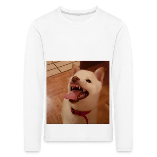 Mein Hund xD - Kinder Premium Langarmshirt