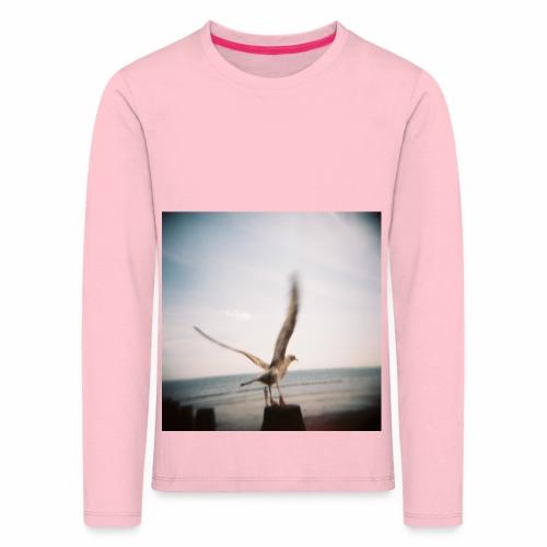 Original Artist design * Seagull - Kids' Premium Longsleeve Shirt