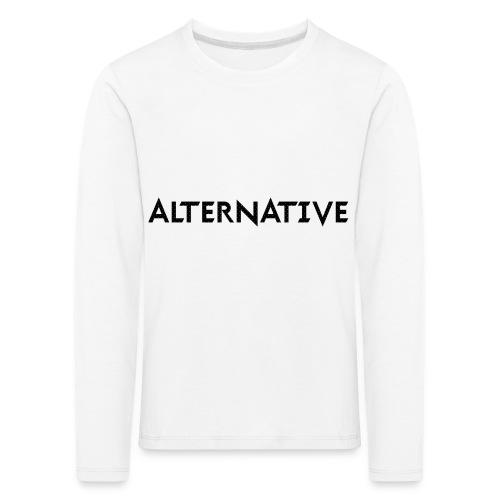 Im Hoodie White - Koszulka dziecięca Premium z długim rękawem