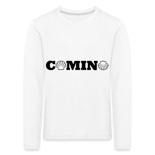 Camino - Børne premium T-shirt med lange ærmer