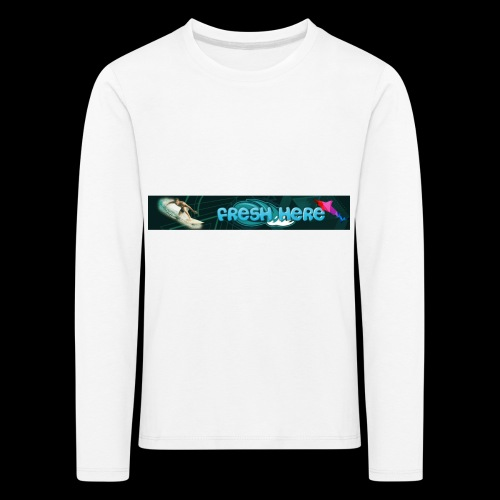 fresh here - Camiseta de manga larga premium niño