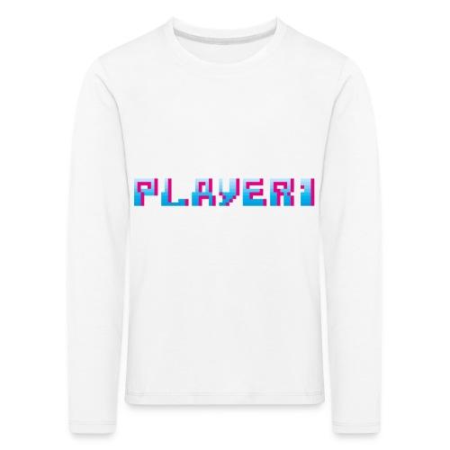 Arcade Game - Player 1 - Kids' Premium Longsleeve Shirt