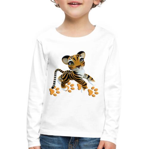 Kleiner Tiger - Kinder Premium Langarmshirt