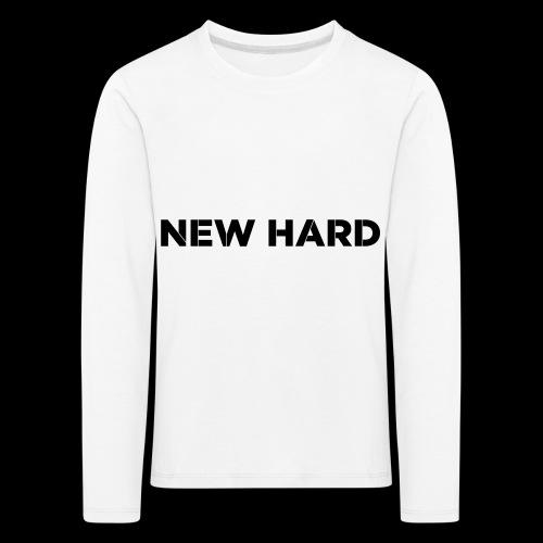 NAAM MERK - Kinderen Premium shirt met lange mouwen