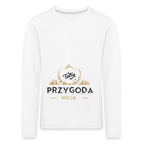 Łukasz Sobczak - Koszulka dziecięca Premium z długim rękawem