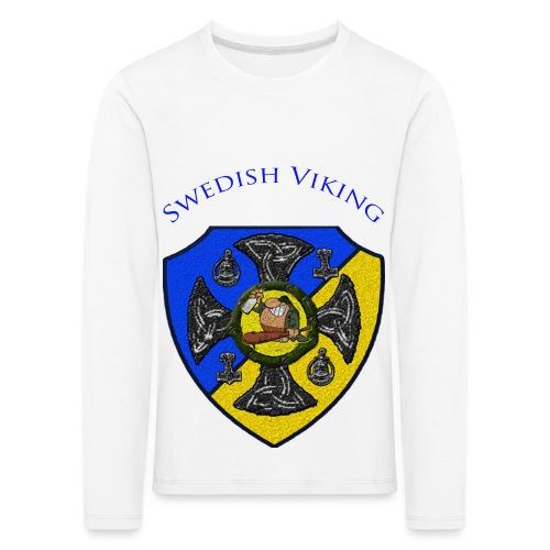 clanshildcw png - Långärmad premium-T-shirt barn