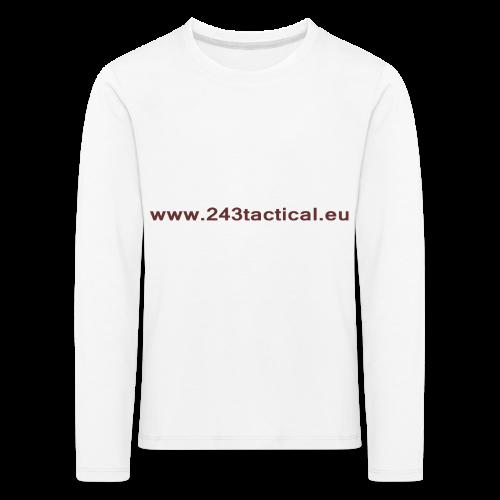 .243 Tactical Website - Kinderen Premium shirt met lange mouwen