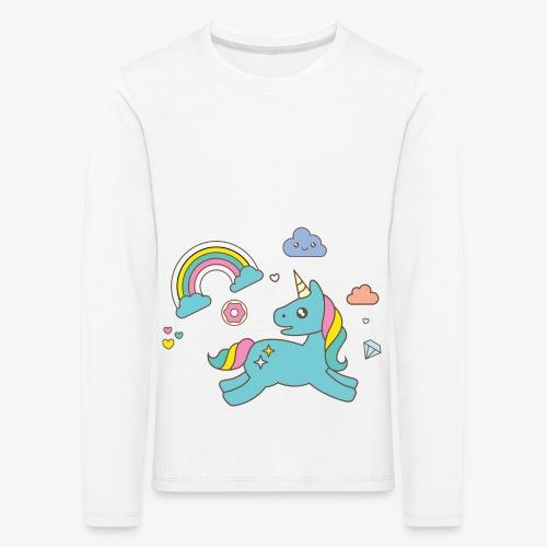 colored unicorn - Kids' Premium Longsleeve Shirt