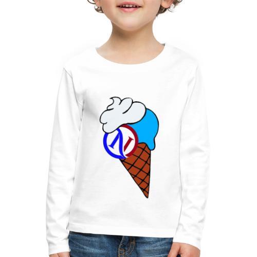 Ice cream collection - Maglietta Premium a manica lunga per bambini
