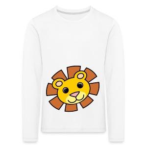 funimals_lejon_f--rg_-2- - Långärmad premium-T-shirt barn