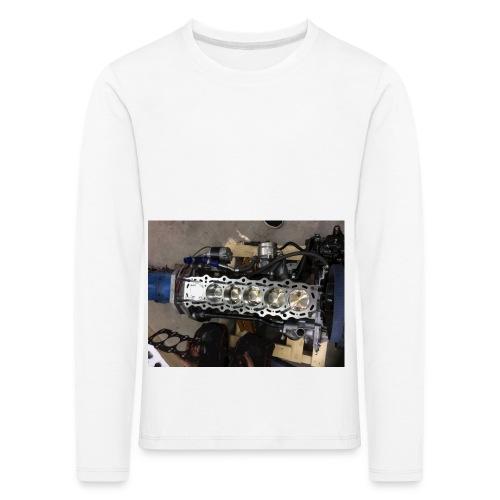 Motor tröja - Långärmad premium-T-shirt barn