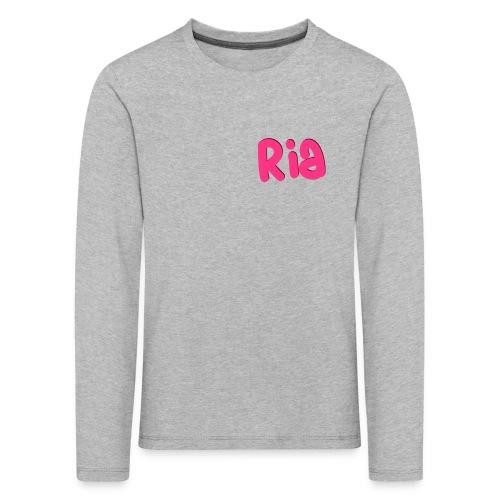 Ria Roo 3D - Kids' Premium Longsleeve Shirt