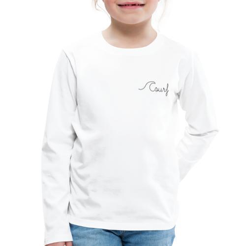 Surf en simplicité - T-shirt manches longues Premium Enfant