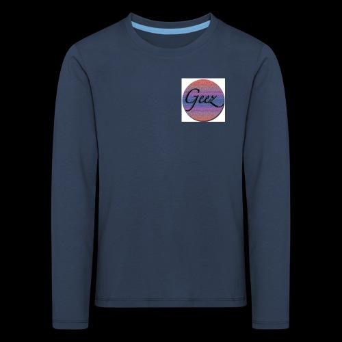 multi coloured logo - Kids' Premium Longsleeve Shirt