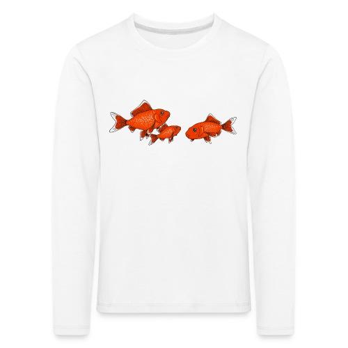 Poissons rouges - T-shirt manches longues Premium Enfant
