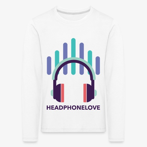 headphonelove - Kinder Premium Langarmshirt