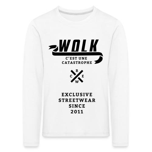 varsityx04 - Kinderen Premium shirt met lange mouwen