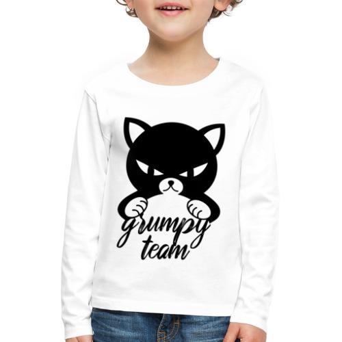 grumpy team - Kinder Premium Langarmshirt