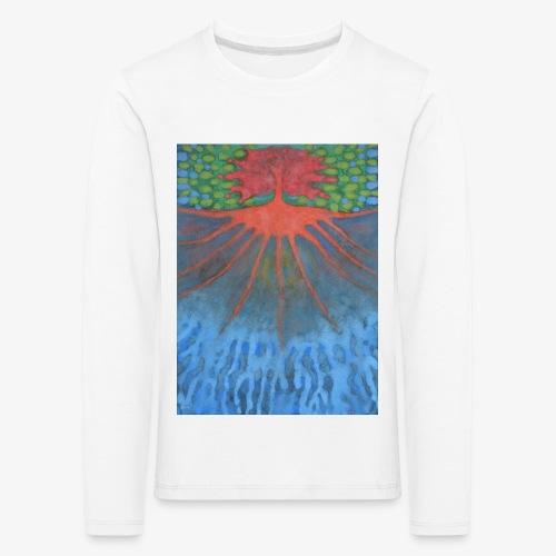 Drzewo Źycia - Koszulka dziecięca Premium z długim rękawem