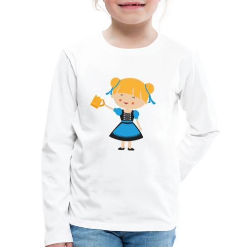 Happy Meitlis - Europa - Kinder Premium Langarmshirt