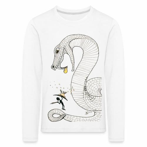 Poison - Fight against a giant poisonous snake - Kids' Premium Longsleeve Shirt